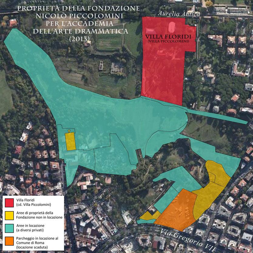 Mappa Terreno Fondazione Piccolomini